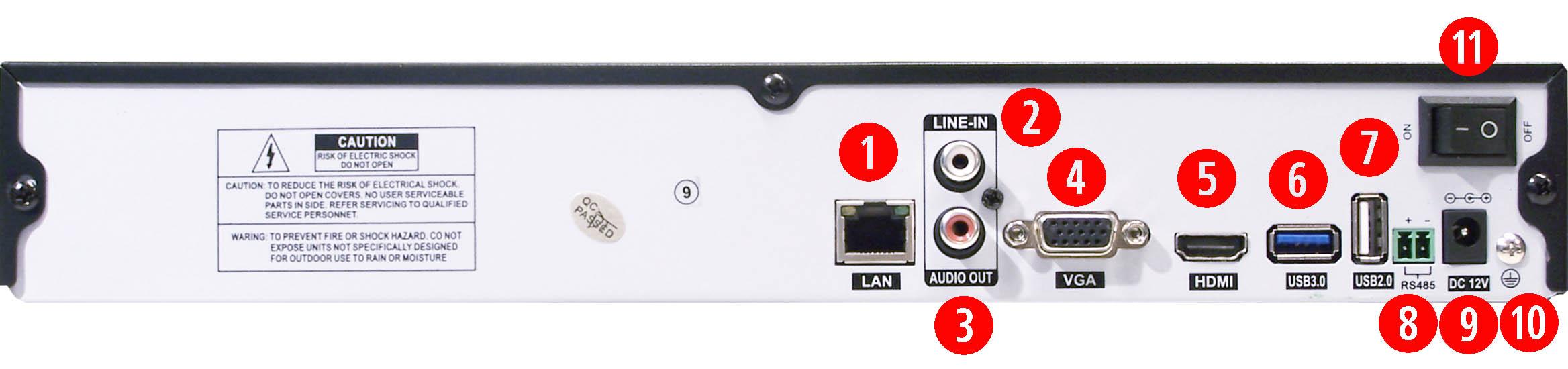 Schema Collegamento Nvr : Videoregistratori nvr onvif per telecamere di rete ip on