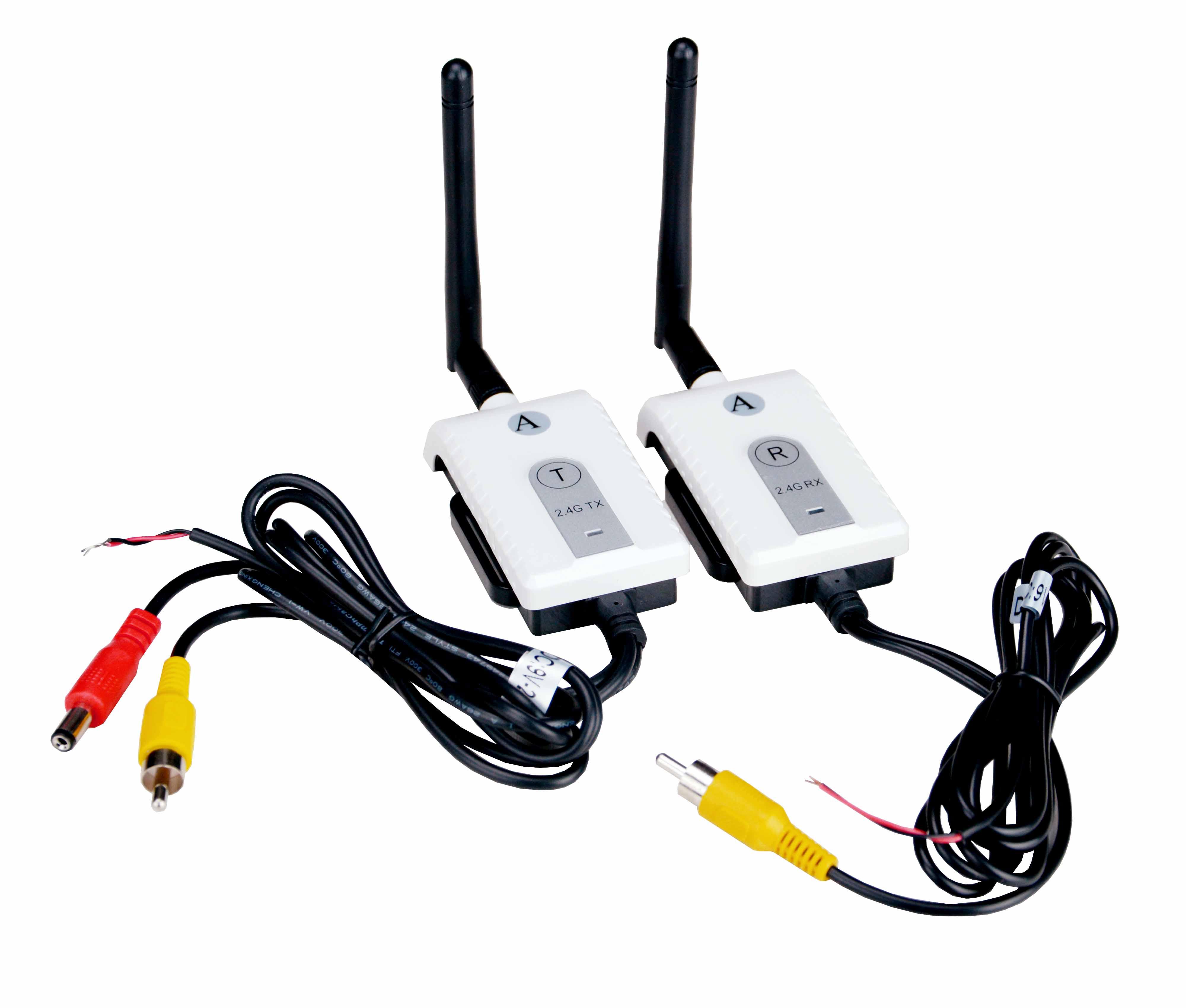 Trasmettitori audio video digitali per telecamere senza - Citofono wireless lunga portata ...
