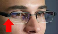 telecamera nascosta in occhiali