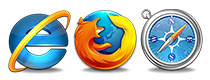Telecamere IP per Firefox Safari Mac