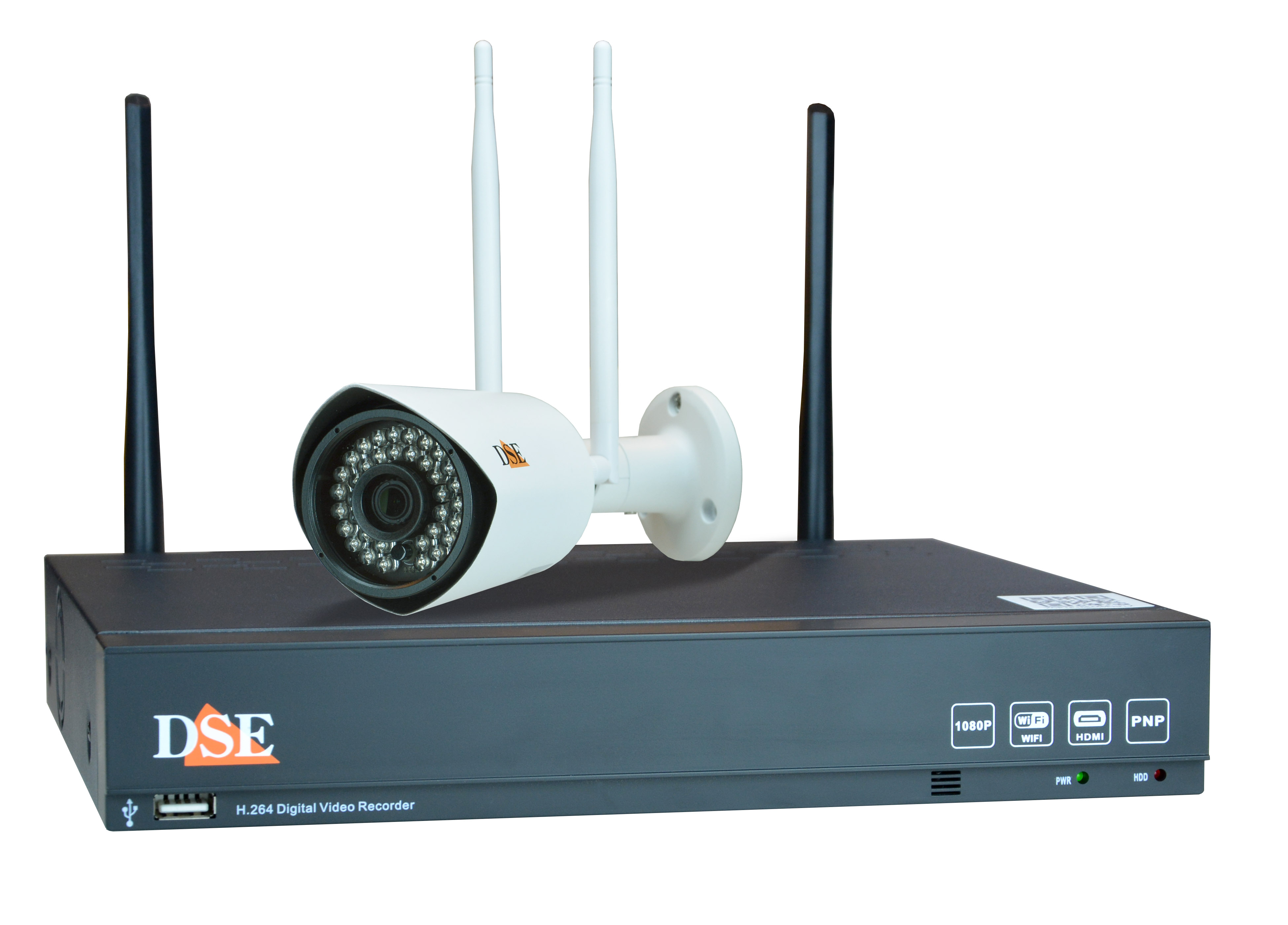 Kit videosorveglianza wifi tvcc ip senza fili kit for Telecamere da esterno casa